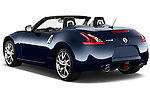 Rear three quarter view of a 2013 Nissan 370Z AT Roadster