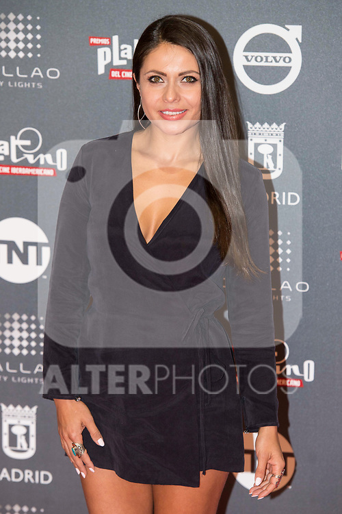 Liliana Moyano attends to welcome party photocall of Platino Awards 2017 at Callao Cinemas in Madrid, July 20, 2017. Spain.<br /> (ALTERPHOTOS/BorjaB.Hojas)