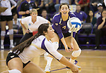 Hawaii vs UW Volleyball 12/1/12