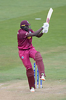 Jason Holder (West Indies) pulls a short delivery behind square during West Indies vs New Zealand, ICC World Cup Warm-Up Match Cricket at the Bristol County Ground on 28th May 2019