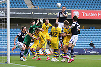 Murray Wallace of Millwall goes close during Millwall vs Swansea City, Sky Bet EFL Championship Football at The Den on 30th June 2020