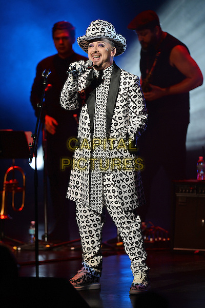 FORT LAUDERDALE FL - JULY 08: Culture Club in concert at The Broward Center on July 8, 2016 in Fort Lauderdale, Florida. <br /> CAP/MPI04<br /> &copy;MPI04/Capital Pictures