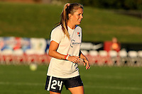 Piscataway, NJ - Sunday Sept. 25, 2016: Kelly Conheeney prior to a regular season National Women's Soccer League (NWSL) match between Sky Blue FC and the Portland Thorns FC at Yurcak Field.