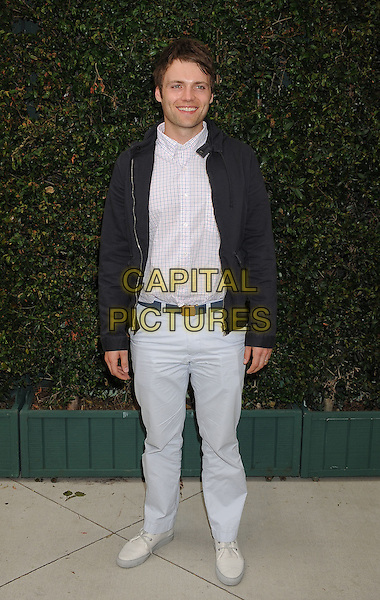Seth Gabel.The Natural Resources Defense Council's Ocean Initiative Benefit Hosted By Chanel at a private residence in Malibu, California, USA. .June 4th, 2011 .full length black jacket blue trousers pale light shirt.CAP/ROT/TM.©Tony Michaels/Roth Stock/Capital Pictures
