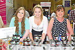 FOOD FAIR: Enjoying the Taste of Kerry at the Manor West shopping centre food fair on Saturday l-r: Emma Herlihy, Camp, Georgina Barter (Harty's Jellies, Tralee and Margaret Herlihy, Camp.