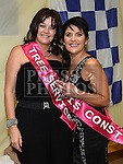 Paula Rock and Karen Scott pictured at the launch of Strictly Come Dancing at the movies in St. Mary's clubrooms Ardee. Photo:Colin Bell/pressphotos.ie