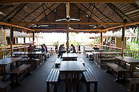 The restaurant at Monkey Island Park- Amazonas - Colombia