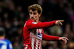 Antoine Griezmann of Atletico de Madrid reacts during the La Liga 2018-19 match between Atletico de Madrid and Athletic de Bilbao at Wanda Metropolitano, on November 10 2018 in Madrid, Spain. Photo by Diego Gouto / Power Sport Images