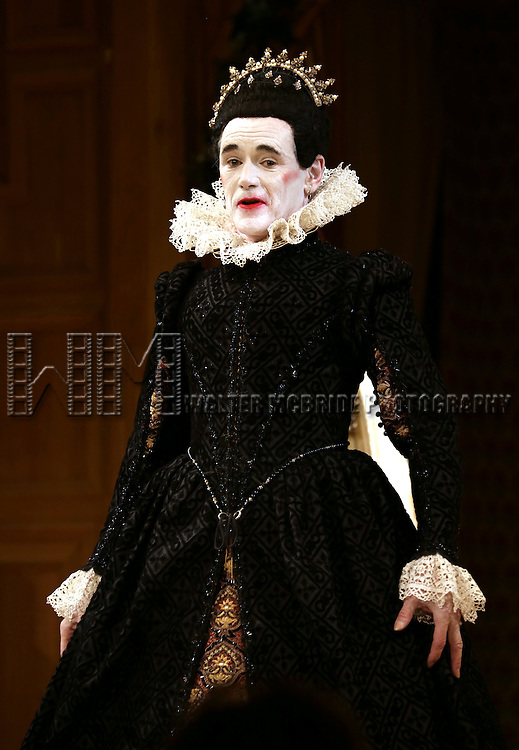 Mark Rylance during the Broadway Opening Night Performance Curtain Call for 'Twelfth Night' at the Belasco Theatre on November 10, 2013 in New York City.