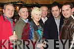 NYE FUN-RAISER: Enjoying the Kerry Hospice fundraiser on New Year's Eve in Tomasin's Bar, Lisselton, were l-r: Joe McGlynn, Martin Sheehy, Brenda McNamara, Mike Dalton, Sean Kennelly and Ger McNamara.