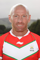 PICTURE BY IAN LOVELL/WRL...Rugby League - Wales Rugby League Headshots 2011 - 21/10/11...Wales Gareth Thomas.