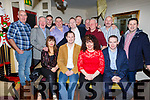 Staff of Heaton Buckleys enjoying their Christmas party in the Brogue Inn on Saturday night.<br /> Seated l-r, Joan Greaney, Gerry Lynch, Siobhan McCrohan and Donal Driscoll.<br /> Back l-r, Michael O&rsquo;Regan, William Kirby, Jimmy Johnston, Denis O&rsquo;Regan, Maurice O&rsquo;Shea, Paul Neenan, James Russell, Gerard O&rsquo;Sullivan, Denis Nolan and Alan Teahan.