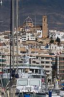 Población de Altea - X Memorial Presidentes - Club Náutico de Altea - 16/2/2008 - Altea - Alicante - España / Spain