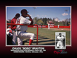 Washington State University sports memorabilia prints.