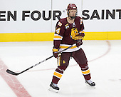 Mike Montgomery (Duluth - 24) - The University of Minnesota-Duluth Bulldogs defeated the University of Michigan Wolverines 3-2 (OT) to win the 2011 D1 National Championship on Saturday, April 9, 2011, at the Xcel Energy Center in St. Paul, Minnesota.