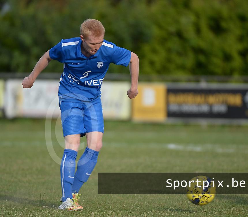 KSV Rumbeke : Dempsey Vanhecke <br /> Foto VDB / Bart Vandenbroucke