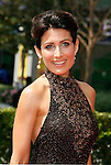 LOS ANGELES, CA. - September 13: Actress Lisa Edelstein arrives at the 60th Primetime Creative Arts Emmy Awards held at Nokia Theatre on September 13, 2008 in Los Angeles, California.