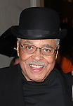 James Earl Jones.exiting the Stager Door after  the Broadway Opening Night Performance of 'Gore Vidal's The Best Man' at the Gerald Schoenfeld Theatre in New York City on 4/1/2012