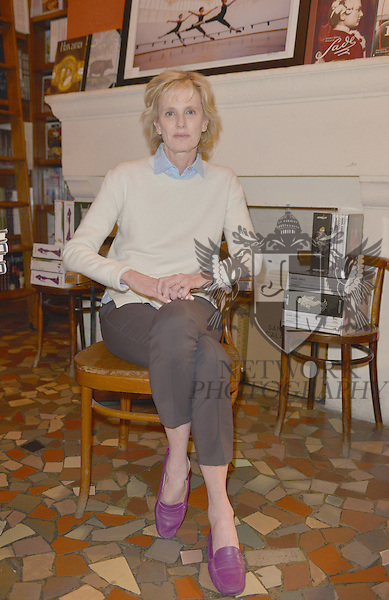 CORAL GABLES, FL - FEBRUARY 20: Author Siri Hustvedt poses for portrait after discussing and sign copies of her new book 'A Woman Looking at Men Looking at Women: Essays on Art, Sex, and the Mind' at Books and Books on February 20, 2017 in Coral Gables, Florida. ( Photo by Johnny Louis / jlnphotography.com )