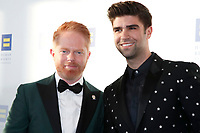 LOS ANGELES - MAR 30:  Jesse Tyler Ferguson, Justin Mikita at the Human Rights Campaign 2019 Los Angeles Dinner  at the JW Marriott Los Angeles at L.A. LIVE on March 30, 2019 in Los Angeles, CA