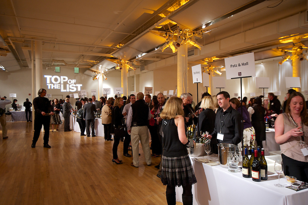 Wine & Spirits magazine tasting event at Metropolitan Pavilion New York