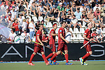 GER - Mannheim, Germany, May 27: During the men semi-final match between Rot-Weiss Koeln and Harvestehuder THC at the Final4 tournament May 27, 2017 at Am Neckarkanal in Mannheim, Germany. (Photo by Dirk Markgraf / www.265-images.com) *** Local caption ***