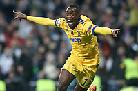 Juventus Football Club's Blaise Matuidi celebrates goal during Champions League Quarter-Finals 2nd leg match. April 11,2018. (ALTERPHOTOS/Acero) /NortePhoto.com