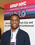 Lncoln Dresser from BroadwayHD debuted their slate of digital captures with Broadway & Beyond Theatricals at The APAP Conference  on January 912, 2020 at The Hilton Hotel Midtown in New York City.