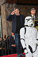Mark Hamill at the Hollywood Walk of Fame Star Ceremony honoring actor Mark Hamill, Los Angeles, USA 08 March 2018<br /> Picture: Paul Smith/Featureflash/SilverHub 0208 004 5359 sales@silverhubmedia.com