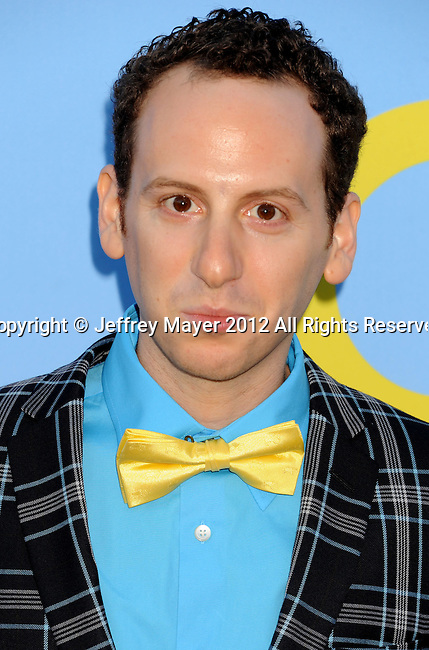 HOLLYWOOD, CA - SEPTEMBER 12: Josh Sussman arrives at the 'GLEE' Premiere Screening And Reception at Paramount Studios on September 12, 2012 in Hollywood, California.