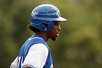 13 July 2010: Felix Brown of Team Saint Martin is seen during day 1 of the Open de Rouen, an international tournament with Team France, Team Saint Martin, Team All Star Elite, at Stade Pierre Rolland, in Rouen, France.