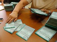 Elezioni Regionali  allestimento seggi