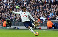 Danny Rose of Tottenham Hotspur during Tottenham Hotspur vs Crystal Palace, Premier League Football at Wembley Stadium on 5th November 2017