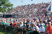 Fans watch on the 18th hole during the second round of the 100th PGA Championship at Bellerive Country Club, St. Louis, Missouri, USA. 8/11/2018.<br /> Picture: Golffile.ie | Brian Spurlock<br /> <br /> All photo usage must carry mandatory copyright credit (© Golffile | Brian Spurlock)