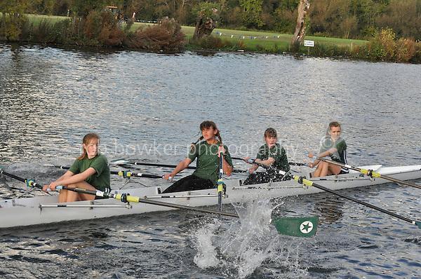 496 MHD .Reading Rowing Club Small Boats Head 2011. Tilehurst to Caversham 3,300m downstream. Sunday 16.10.2011