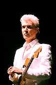 DAVID BYRNE - performing live on the 'Songs of David Byrne and Brian Eno Tour' at Royal Festival Hall in London UK - 12 April 2009.  Photo credit: George Chin/IconicPix
