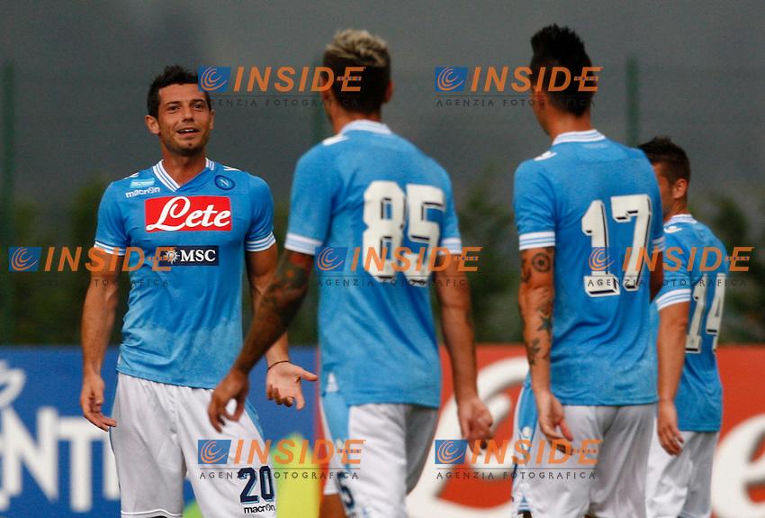 BLERIM DZEMAILI<br /> Dimaro (Trento) 26.7.2013 <br /> Football Calcio 2013/2014 Serie A<br /> Amichevole Napoli vs Carpi<br /> Foto Ciro De Luca / Insidefoto