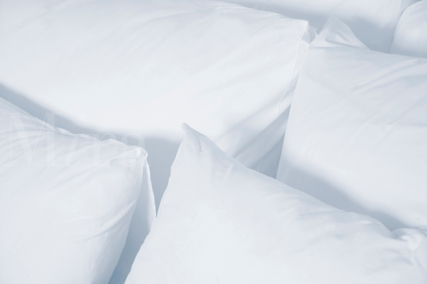 Fresh, clean pillows