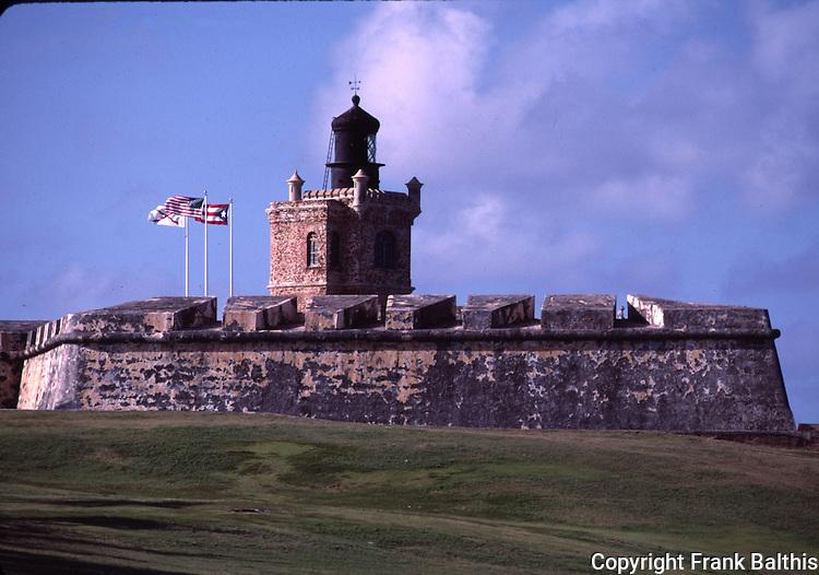 El Morro Castle in San Juan