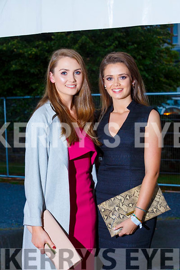 Eliza and Eimear McKenna from Tralee