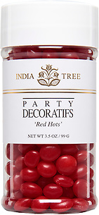10616 Red Hots, Small Jar 3.5 oz, India Tree Storefront