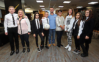 Pictured: The winners, pupils from Pentrehafod School Wednesday 25 November 2015<br />