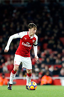 Mesut Ozil of Arsenal during the Premier League match between Arsenal and Huddersfield Town at the Emirates Stadium, London, England on 29 November 2017. Photo by Carlton Myrie / PRiME Media Images.
