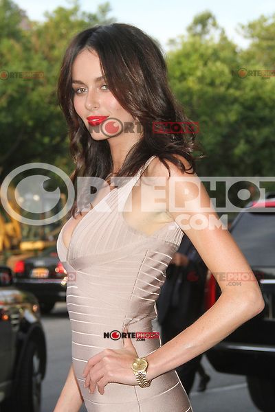 NEW YORK, NY - JULY 25: Nicole Trunfio at 'The Campaign' New York Premiere at Sunshine Landmark on July 25, 2012 in New York City. © RW/MediaPunch Inc. /NortePhoto.com<br />