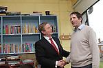 Taoiseach Enda Kenny Visit St.Itas Scchool Drogheda 25/4/13