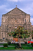 Philippines: Manila-- Malate Church or the historical Parish of Our Lady of Remedios , Roxas Blvd. Photo '82.