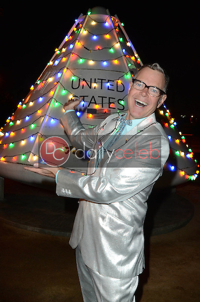 Charles Phoenix<br /> at the Charles Phoenix Apollo Space Capsule Holiday Lighting and Donut Exchange Party where an actual Apollo Spacecraft is lit up like a Christmas Tree, Columbia Memorial Space Center, Downey, CA 12-03-16<br /> David Edwards/DailyCeleb.com 818-249-4998