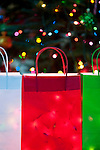 Christmas Lights and Gift Bags