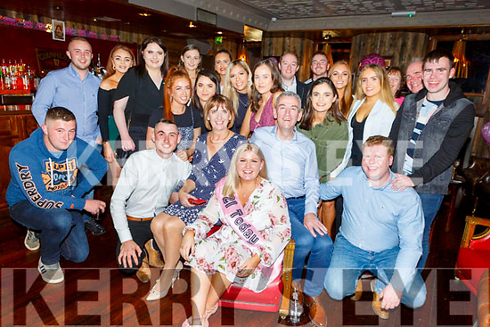Abbie O'Sullivan from Ballyseedy celebrating her 21st birthday in the Fiddler Baron Saturday night <br /> L to r: Julie, Abbie and Con O'Sullivan