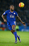 Wes Morgan of Leicester City - English Premier League - Leicester City vs Chelsea - King Power Stadium - Leicester - England - 14th December 2015 - Picture Simon Bellis/Sportimage